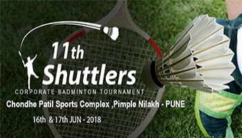 11th Shuttlers Corporate Badminton Tournament -Pune