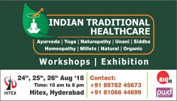 Indian Traditional Healthcare  Organic and Millets Expo And conferences