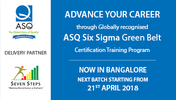 ASQ Six Sigma Green Belt Training Program
