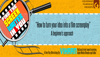 Two Day Screen Writing Workshop By Goldenagefilmhouse