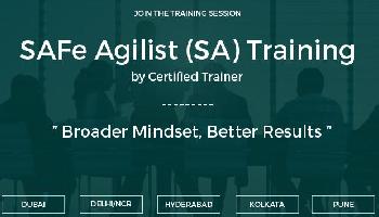 SAFe Agilist (SA) Training  Bengaluru | June 30-31