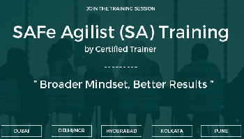 SAFe Agilist (SA) Training  Pune | June 23-24