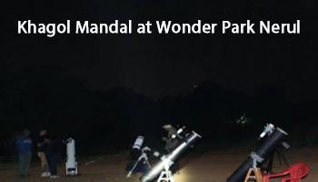 21 April Sky Gazing at Wonders Park by Khagol Mandal