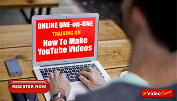 Online One-on-One Training Workshop On Making YouTube Videos