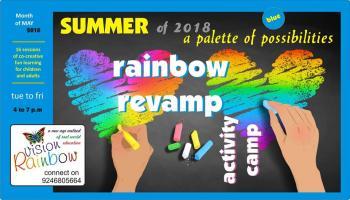Rainbow Revamp Activity Camp