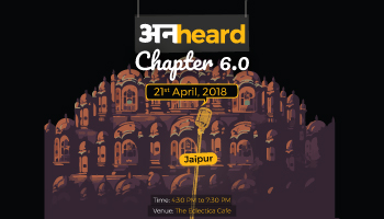 Unheard Chapter 6.0, Jaipur