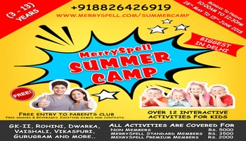 MerrySpell Summer Camp