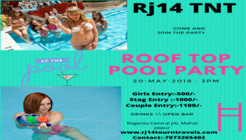 Roof Top Pool Party Rj14TNT