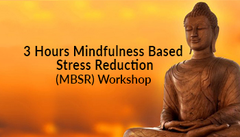 3 Hours Mindfulness Based Stress Reduction (MBSR) Workshop by Yogi Anand