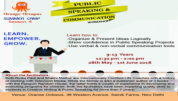 Public Speaking and Communication