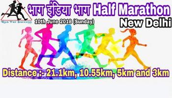 Bhaag India Bhaag Half Marathon-2018