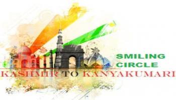 Kashmir to Kanyakumari Road Trip (K2K) 5604 KM, 11 States LIFETIME EXPERIENCE - SMILING CIRCLE