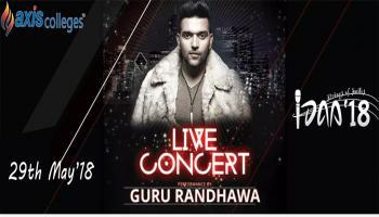 Guru Randhawa Concert  IDAA 2K18