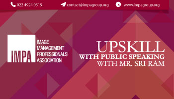 UPSKILL with Public Speaking With Mr. Sri Ram