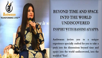 Beyond Time and Space into the World Undiscovered - Inspirit with Rashmi Aiyappa