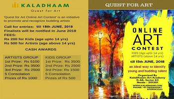 Quest for Art - Online Art Contest