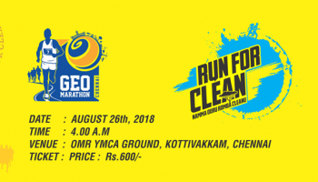 Geo Marathon - Namma Oru Romba Cleanu