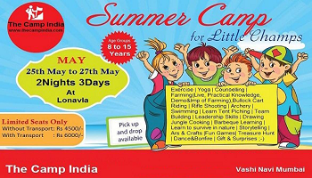 THE CAMP INDIA presents Summer Camp