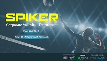 SPIKER Corporate Volleyball Tournament -Bengaluru