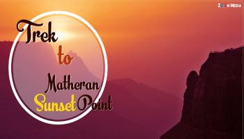 Trek to sunset point at Matheran