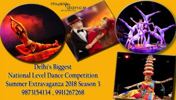 The Delhi Biggest National Level Dance Competition