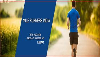 Mile Runners India 1st Edition Panipat