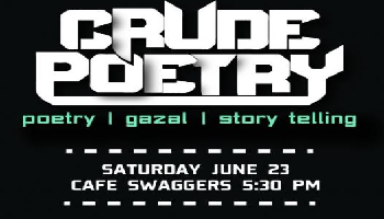 Crude Poetry 1.0- Open Mic | Jaipur