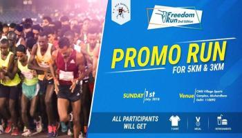 Promo Run - Freedom Run 2nd Edition