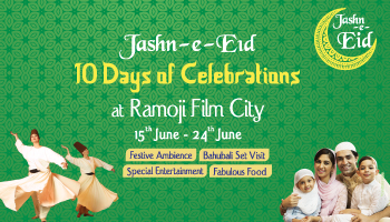 JASHN-E-EID - DAY TOUR AT RAMOJI FILM CITY