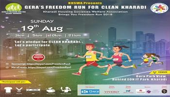 Freedom Run for Clean Kharadi