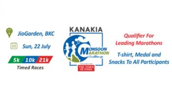 KANAKIA Monsoon Marathon Challenge 2018