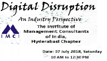 Digital Disruption : An Industry Perspective