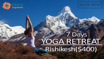 7 and 15 Days Yoga Retreat in Rishikesh