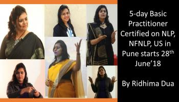 NFNLP, US Basic Practitioner Certified NLP Program by Ridhima Dua