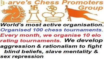 Girgav Rating Chess Tournament with training by 2041 FIDE rated player Saurabh Barve