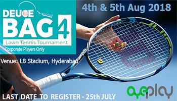 Deuce Bag 4 Corporate Lawn Tennis Tournament -Hyderabad