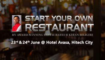 Start Your Own Restaurant Two Day Workshop