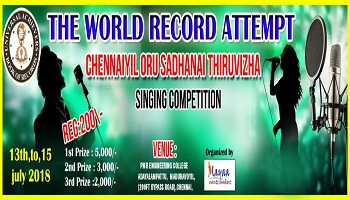 SINGING COMPETITION - 2018