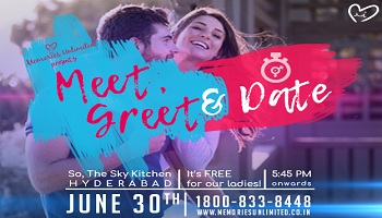 Meet, Greet and Date- Speed Dating Hyderabad