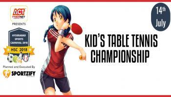 HSC Kids Table Tennis Championship