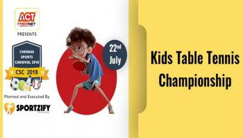 CSC Kids Table Tennis Championship