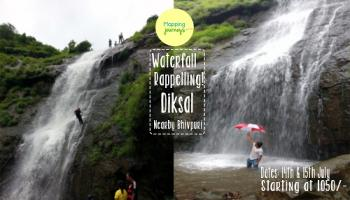 Waterfall rappelling 2018 @ Diksal Waterfall