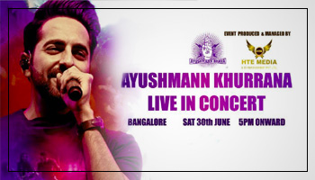 Ayushmann Khurrana Live