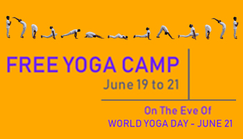 Free Yoga Camp - June 19 to 21 - Mrukruthi Dhyana Yoga