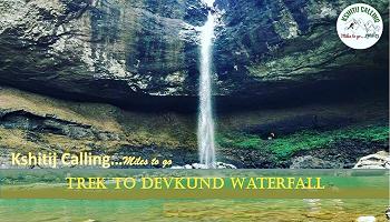 Trek to Devkund Waterfall by Kshitij Calling
