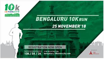 BANGALURU 15K INTENCITY RUN