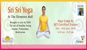 Sri Sri Yoga @ Elements Mall