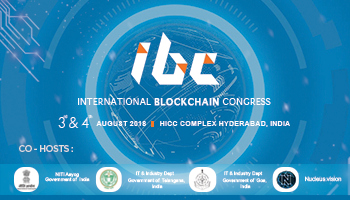 International Blockchain Congress Hyderabad