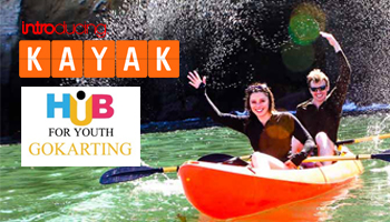 Kayaking at Hub For Youth