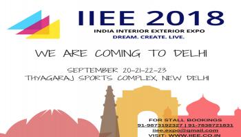 India Interior Exterior Expo Delhi 2018